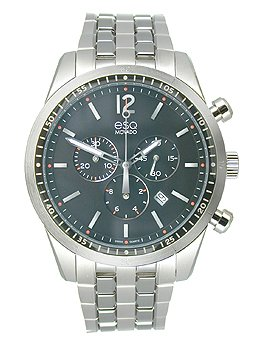 Esq Steel Watch - ESQ Movado Current Chronograph Silver-Tone Stainless Steel Men's watch #07301474