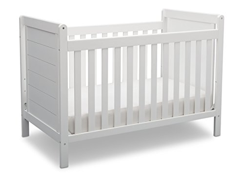 Cheap Delta Children Sunnyvale 4-in-1 Convertible Baby Crib, Bianca White