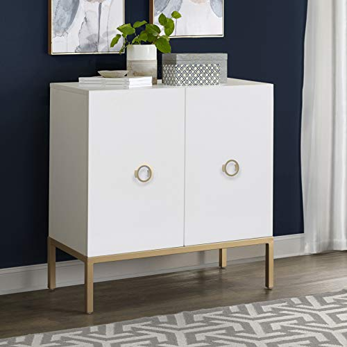 Pulaski DS-D204-051 White Two Door Accent Cabinet ()
