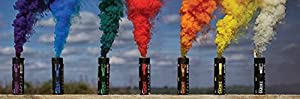 Celebration, Sports, and Photography Smoke Sticks - Smoke Effect Set of 7 Colors