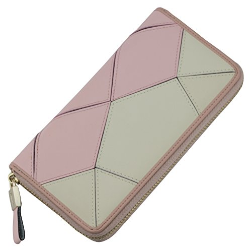 Kivi Classic Leather Clutch/Wallet (Pink)