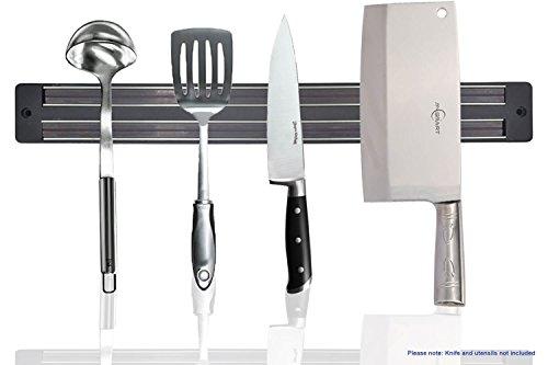 Magnetic Knife Holder 33 cm/13 inch Magnet Rack Strip Bar Storage Wall Mount for Kitchen Knife Knives Tool Spoon Display Rack Organizer - No Dead Spots - Best Magnetic Knife Rack - By SublimeWare