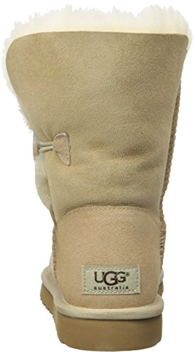 UGG Bailey Button 5803 - Botas Planas Mujer Beige (Beige/sable)