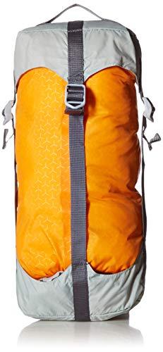 SealLine Blocker Compression Dry Sack Waterproof Stuff Sack, Orange, 10-Liter