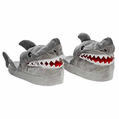 Stompeez Boy and Girl Shark Slippers