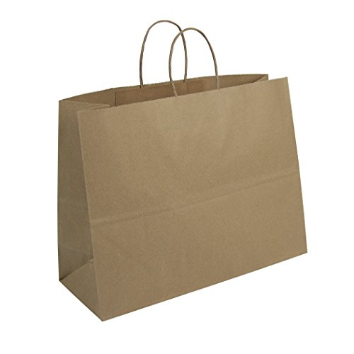 Duro ID# 87129 Tote Shopping Bag 65# 100% Recycled Natural K