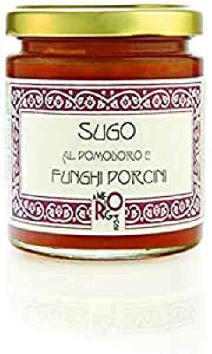 la Dispensa Di Amerigo – Tomaten/Porcini Champignonsaus – te combineren met de Beste Pasta – 200 g