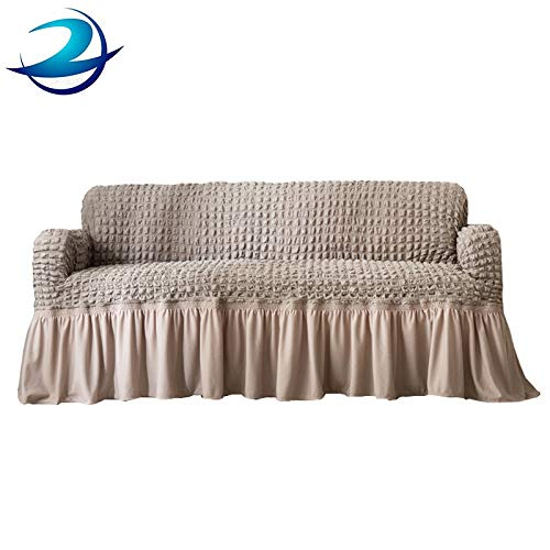 orange Popcorn XsSFT Sofa abdecken Sofa abdecken 4 sitzer Sofa abdecken Universal-Set einfacher Stretch-Princess-Stil All-Inclusive-Set Sofatuch Sofakissen Universaltyp S-Code 70-120cm