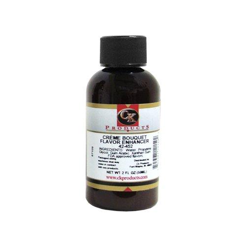 CK Products Artificial Crème Bouquet Flavor Enhancer, 2 ounce bottle