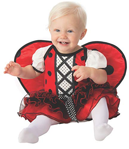Rubie's Kid's Opus Collection Lil Cuties Ladybug Costume Baby Costume, As Shown, Infant