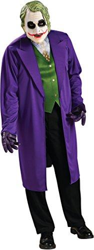 Rubie's Costume Batman The Dark Knight Joker Costume, Black/Purple, Standard -