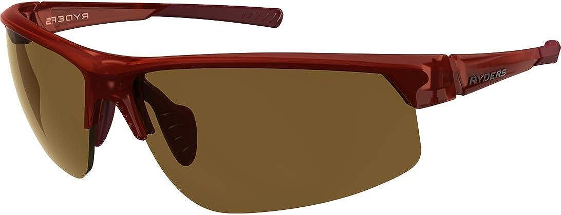 Ryders Sports Sunglasses 100% UV Protection, Impact Resistant Adjustable Sunglasses for Men, Women - Saber