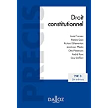 Droit constitutionnel. Édition 2018 (French Edition)