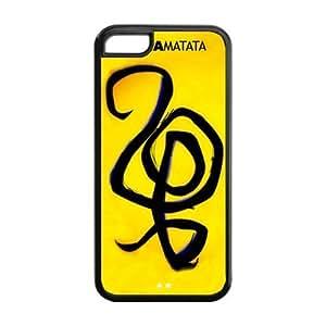 Customize Your Unique Cartoon Hakuna Matata Back Case Suitable for iphone 5C JN5C-1560