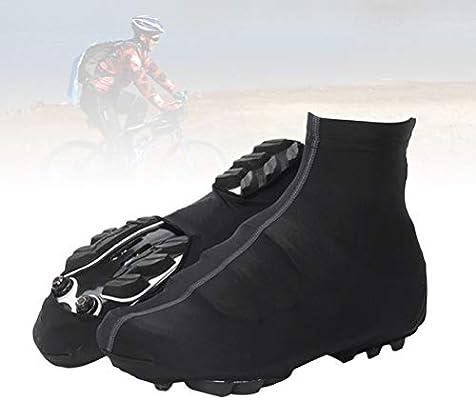 VORCOOL Cubre Zapatos de Ciclismo Ciclismo Impermeable Botín Cubrebotas Protector de Zapato de Bicicleta térmico para Invierno Cubre Calzado Deportivo al Aire Libre (Negro, XL): Amazon.es: Deportes y aire libre