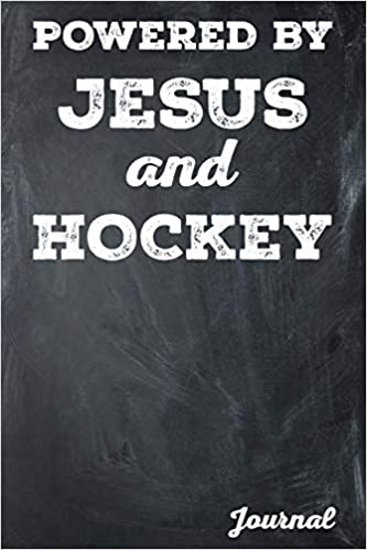 Powered by Jesus and Hockey Journal: College Lined: Samantha O