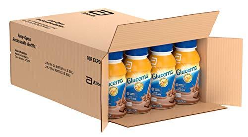 Glucerna | Alimentación Especializada  Para el Tratamiento de Diabetes | Chocolate | 237 mL | 24 piezas