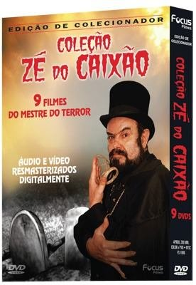 Colecao Ze do Caixao (9 Filmes) - Coffin Joe Collection (9 Movies) - Audio and Video Remastered by Focus Filmes