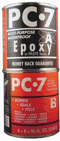 Paste Epoxy Marine (Epoxy, High Viscosity, Gray, 8 Lb Can)