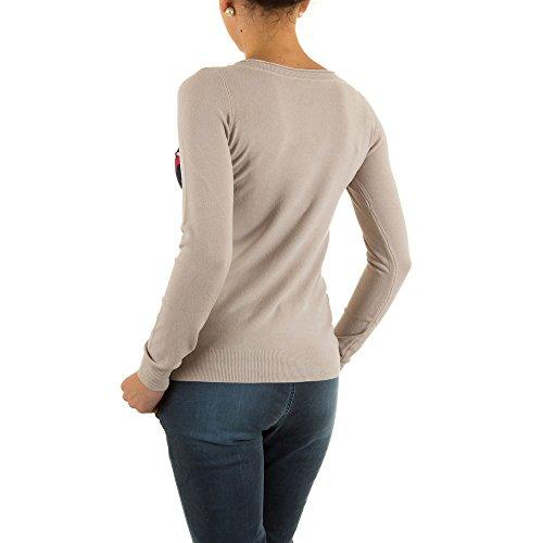 Ital-Design - Jerséi - para mujer Beige