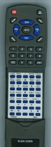 (Replacement Remote Control for SANSUI SLEDVD198B, 076R0RG021, SLEDVD198A, SLEDVD198)