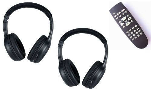 Headphones and DVD Remote for the Infiniti QX56  (Model Years: 2004 2005 2006 2007 2008 2009 2010)