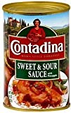 Contadina, Sweet & Sour Sauce with Pineapple, 16oz Can (Pack of 6)