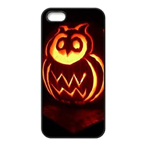 Custom Personalized Hipster Owl Back Cover Case TPU for iphone 5,5S JN5S-1079