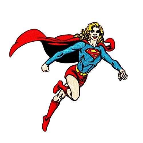 Application Supergirl Figure Patch
