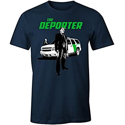 Fantastic Tees Trump The Deporter Funny Transporter Spoof Immigration Men's T Shirt