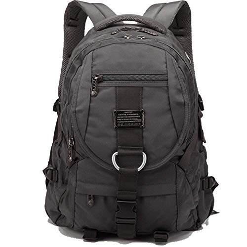 ck for Men and Women with Many Big Compartment, Durable Big College School Rucksack Fashion Travel Business Computer Bag Backpack for Men and Women Fit 17 Inch Laptops Notebook ()