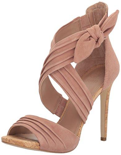 Guess Women's Azali Heeled Sandal, Tan, 8.5 Medium US by Guess