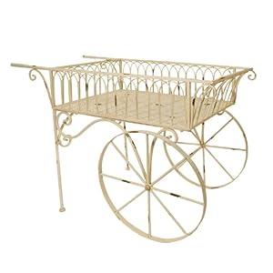 Decorative Metal Garden Cart