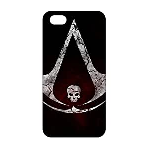 WWAN 2015 New Arrival assassin's creed 4 logo 3D Phone Case for iPhone 5S Kimberly Kurzendoerfer