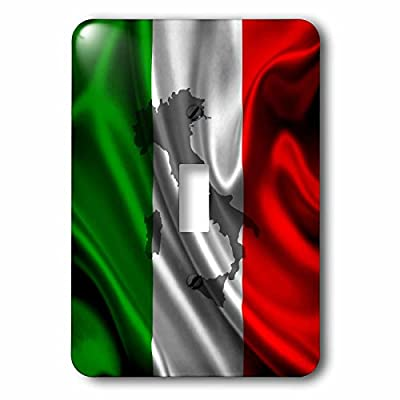 Edmond Hogge Jr – Flags - Italian Flag Design - Light Switch Covers - single toggle switch (lsp_204475_1)