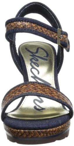 Skechers Cutting Edgewild Ride - Zapatos de pulsera Mujer Marrón (Braun (Brn))