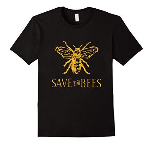Mens Save the Bees T-Shirt 3XL - Bees Save