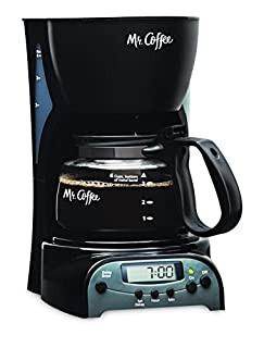 Mr. Coffee 4-Cup Programmable Coffeemaker, DRX5 (B0008JIW8U) | Amazon price tracker / tracking, Amazon price history charts, Amazon price watches, Amazon price drop alerts