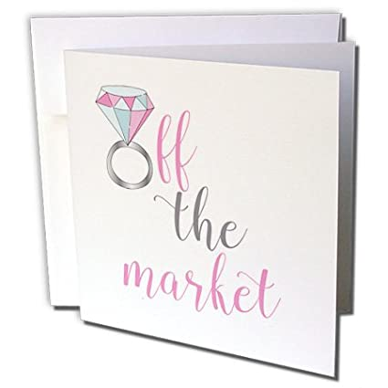 Amazon lenas photos wedding off the market engagement ring lenas photos wedding off the market engagement ring 1 greeting card with envelope m4hsunfo
