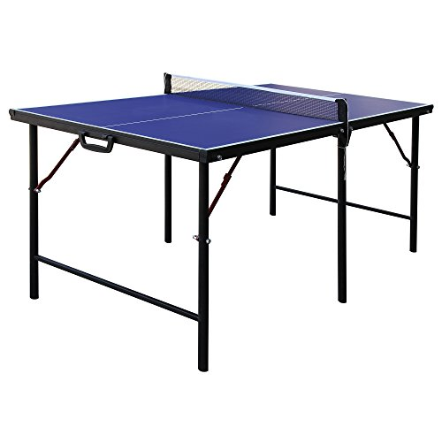 Hathaway Crossover Portable Table Tennis Table, 60-Inch by Hathaway
