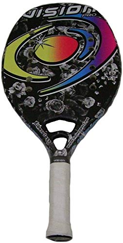 Vision pro Raqueta Beach Tennis Racket Flor: Amazon.es: Deportes y ...
