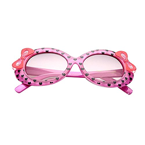 Weixinbuy Kids Love Printed UV Protection Sunglasses - Uv Protection And Difference Polarized Between