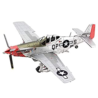Fascinations Metal Earth P-51D Mustang Sweet Arlene 3D Metal Model Kit