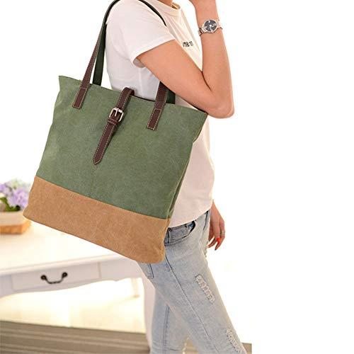 bandoulière Gray de Sac à dames femmes capacité imperméable grande multi en sac option portable sac de à couleur l'eau fxqxCBA