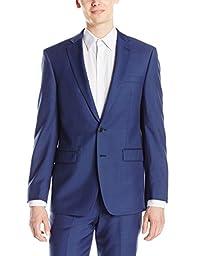 Calvin Klein Men\'s Xfit Slim Fit High Performance Stretch Suit Separate Jacket, Blue, 42 Short