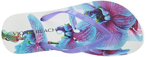 Vionic Women's Orchdprpl Noosa Flip Orchid Beach Flop 6Pq8xa6w