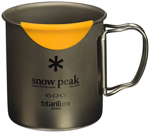 Snow Peak MGH-044 Hotlips Titanium Mug