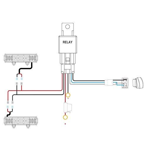 Nilight Led Light Bar Wiring Harness Diagram on