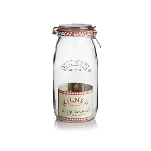 Kilner Round Clip Top Jar, 1.5 Liter, Case of 12 by Kilner (Image #2)