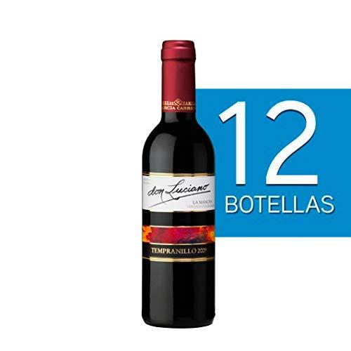 Botellas De Vino Para Regalar En Bautizos.Lote De 12 Botellines Botellas Vino Don Luciano Cosecha